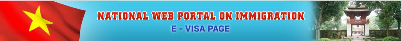 Vietnam official E-Visa Page